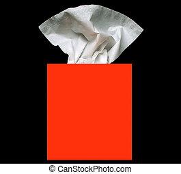 tissue box - box of facial tissues