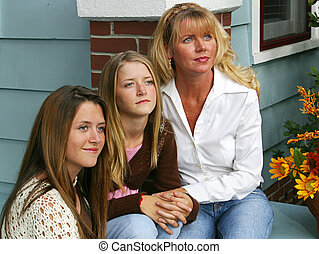 Three Beauties - Beautiful mother and daughters together...