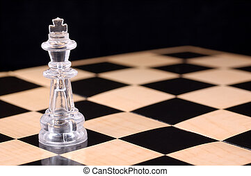 Bishop - Photo of a Chess Piece and Checkered Board