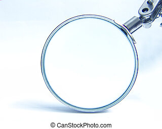 loupe2 - A magnifying glass closeup