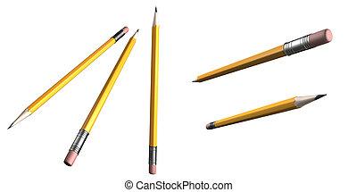 Pencils 3D
