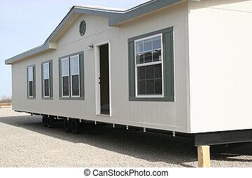 Manufactured House 1 - post katrina housing in New Orleans