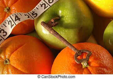 key fruit 2 - the old fashioned key to a nice waist line...