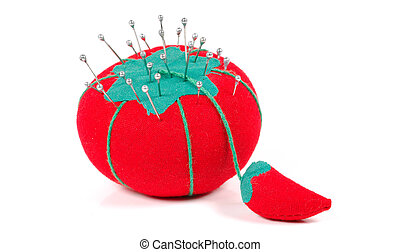 Pin Cushion - Pins in a Pin Cushion