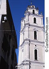 Vilnius - Sts. Johns´ church in Vilnius.