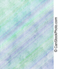 Blue Green watercolour paper - Diagonal watercolor paper
