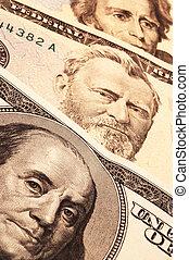three usa presidents on cash - three usa presidential...