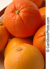 navel oranges vertical