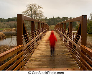 Walking Bridge 6 - Photo of a newly constructed walking...