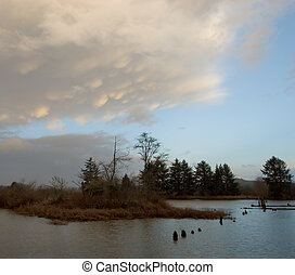 Lewis and Clark River near Sunset - Photo of the Lewis and...