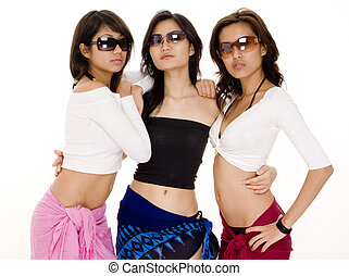 Beach Babes 14 - Three cool women in sunglasses