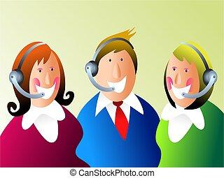 customer service - teamwork