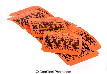 Raffle Tickets - Isolated Raffle Tickets