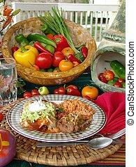 Messicano, cibo
