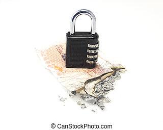 Security loop - Lock on money