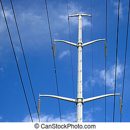 Power lines 02. - Power lines are the blood vessels of the...