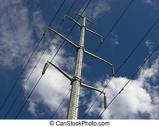 Power lines 04 - Power lines are the blood vessels of the...