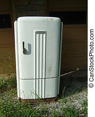 vieux, réfrigérateur