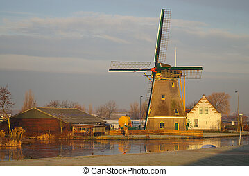 The old Mill - Old mill and farmhouse in The Netherlands