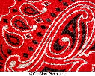 bandana - red bandana