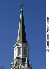 Church Spire - A slate covered chruch spire