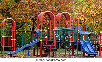 Park Play Set - Playground set with slides