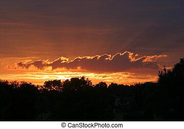 Ohio Sunrise - An Ohio Sunrise Morning