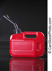 Valuable Container! - Portable gas can shot on black