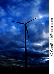 Wind energy mill -