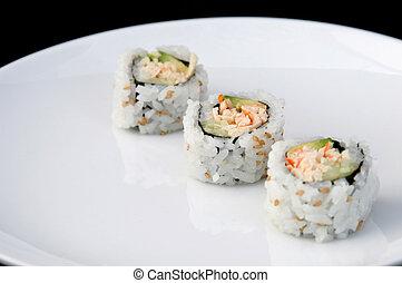 Sushi Diagonal White