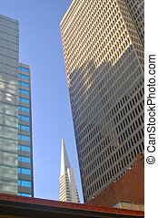 Office towers - office tower buildings in San Francisco