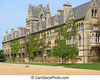 Christ Church College, Oxford - Facade of Christ Church...