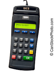 Credit Card Terminal - Isolated credit card terminal
