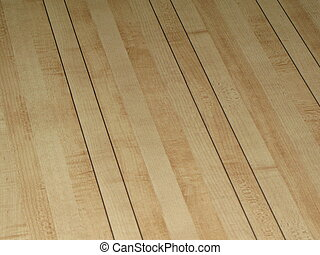 wooden floor - A bowling alley floor - good background.