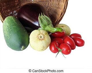 Season\\\'s Bounty - Fresh Garden Vegetables; short DOF