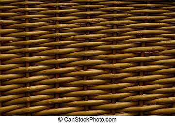 Wicker Basket - Weaved wicker texture