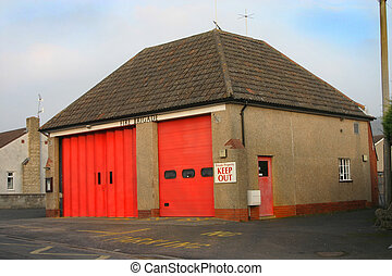 Rural Fire House - Small rural fire house.