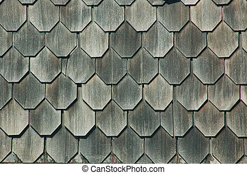 shingles - shingled roof background