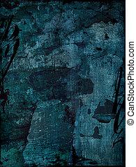 Blue grunge background - Blue grunge textured background