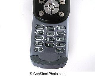 Phone keypad - Isolated cell phone keypad