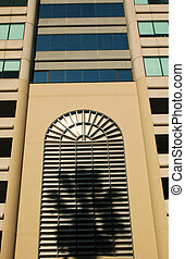 Corporate Office Building - Side of a corporate office...