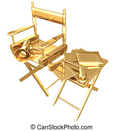 Gilded Directors Set 3D
