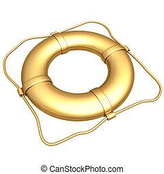 Gilded LifePreserver - Gilded Life Preserver 3D