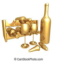 Gilded Wine 01