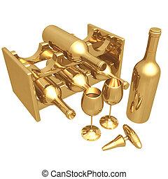 Gilded Wine 02