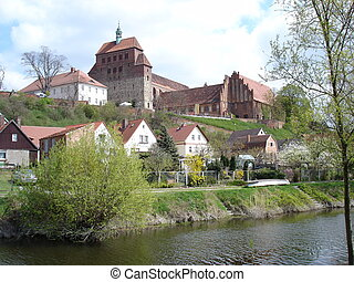 Old Cathedral - The old cathedral of Havelberg Germany