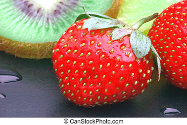 Strawberry is an exotic fruits and often used in foods &...