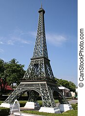 Eiffel Tower Replica - A replica of the Eiffel tower in Mini...