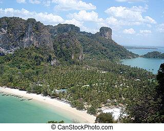 krabi thailand - krabi Thailand from above