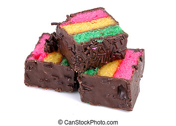 Pastries - Tricolor Pastries